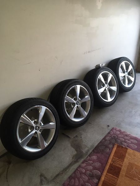 Genuine Holden VF Commodore SS / SV6 Series II Rims and
